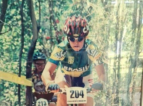 Jane Porfírio durante competição