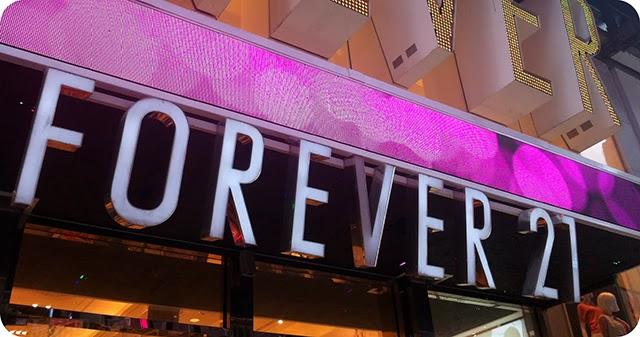Compras em New York : Forever 21
