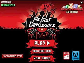 لعبة الديناصورات الأخيرة The Last Dinosaurs
