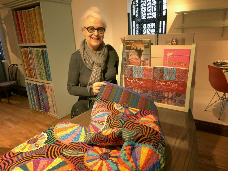 At Kaffe Fassett Corner