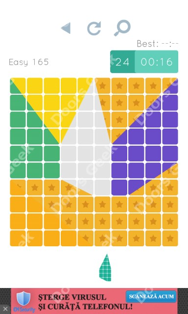 Cheats, Walkthrough for Blocks and Shapes Level 165