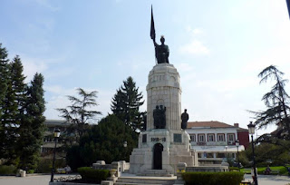 Memorial de la guerra de la Madre Bulgaria.
