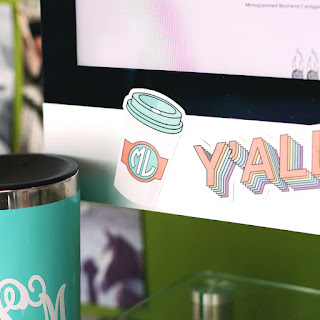 coffee sticker from marleylilly for your computer