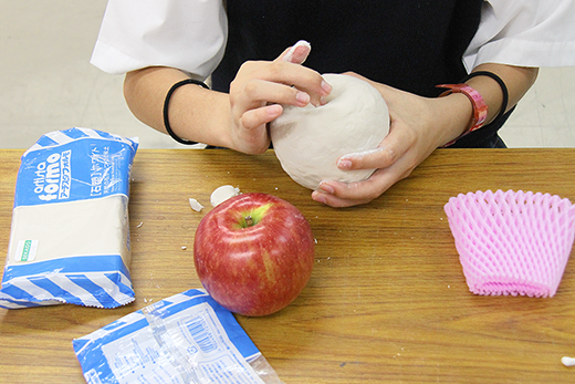 食べ物 紙 粘土