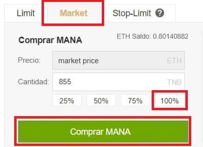 Como Comprar Decentraland (MANA) Binance y Coinbase