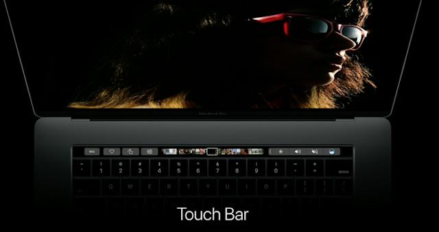 A Apple confirma que este é o MacBook Pro mais fino e mais leve já feito. O trackpad foi redesenhado e está duas vezes maior