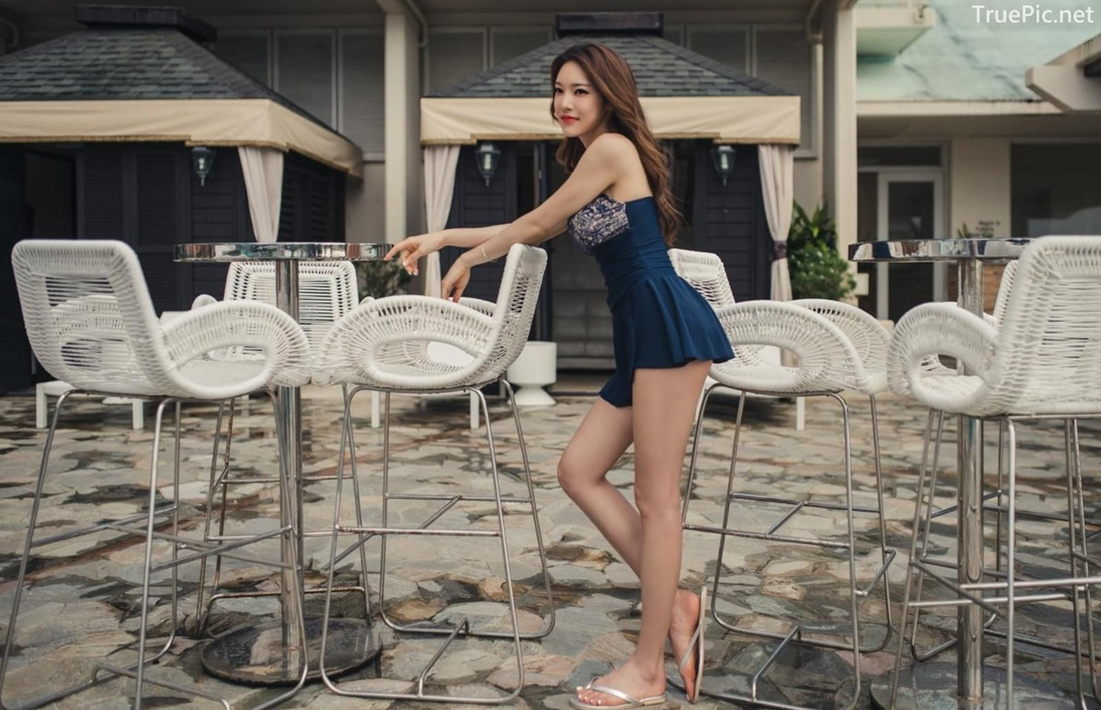 Korean model and fashion - Park Jeong Yoon - Lemare 2P Swimsuit Set - Picture 8