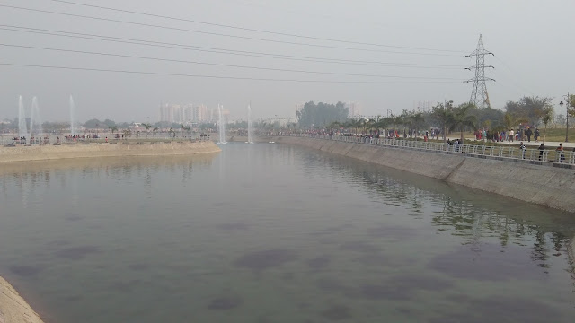 lake in janeshwar mishr park