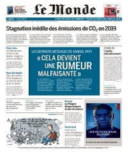 Le Monde Magazine 19 November 2020 | Le Monde News | Free PDF Download