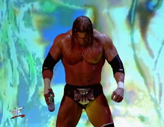 WWF Insurrexion 2002 - Triple H prepares to Face The Undertaker