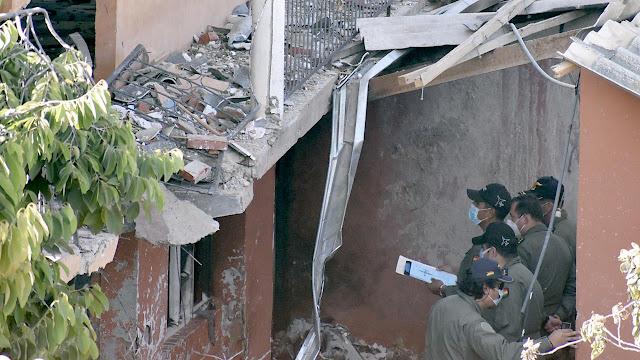 Cochabamba: Expertos colectan restos de aeronave K8 para esclarecer las causas del accidente