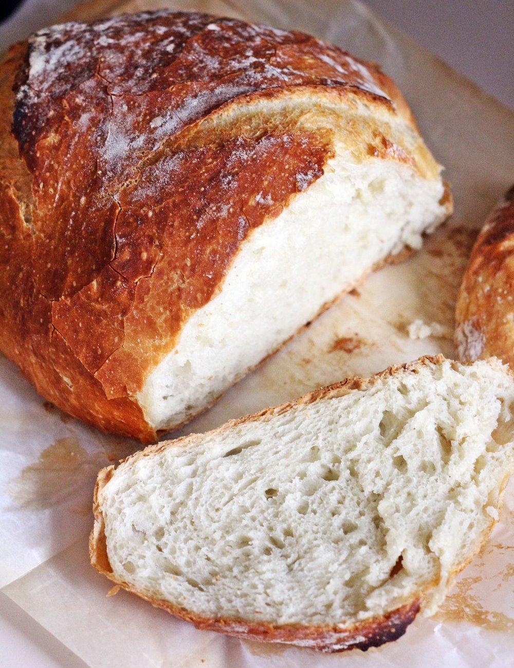 Artisan No-Knead Bread