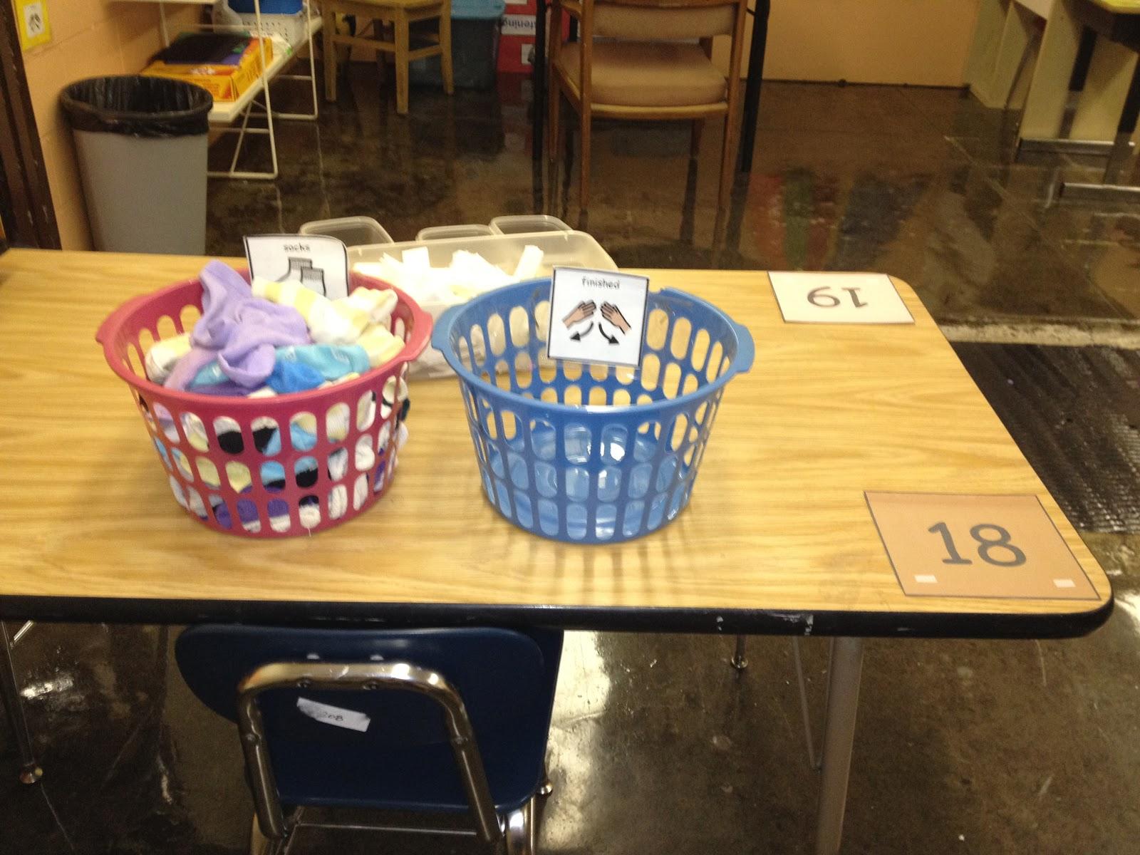 Autism Tank Life Skills Classroom