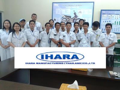 Lowongan Kerja Jobs : Die Casting Operator Min SMA SMK D3 S1 PT Ihara Manufacturing Indonesia Rekrutmen