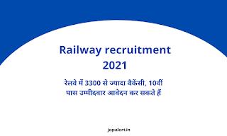 Railway recruitment 2021