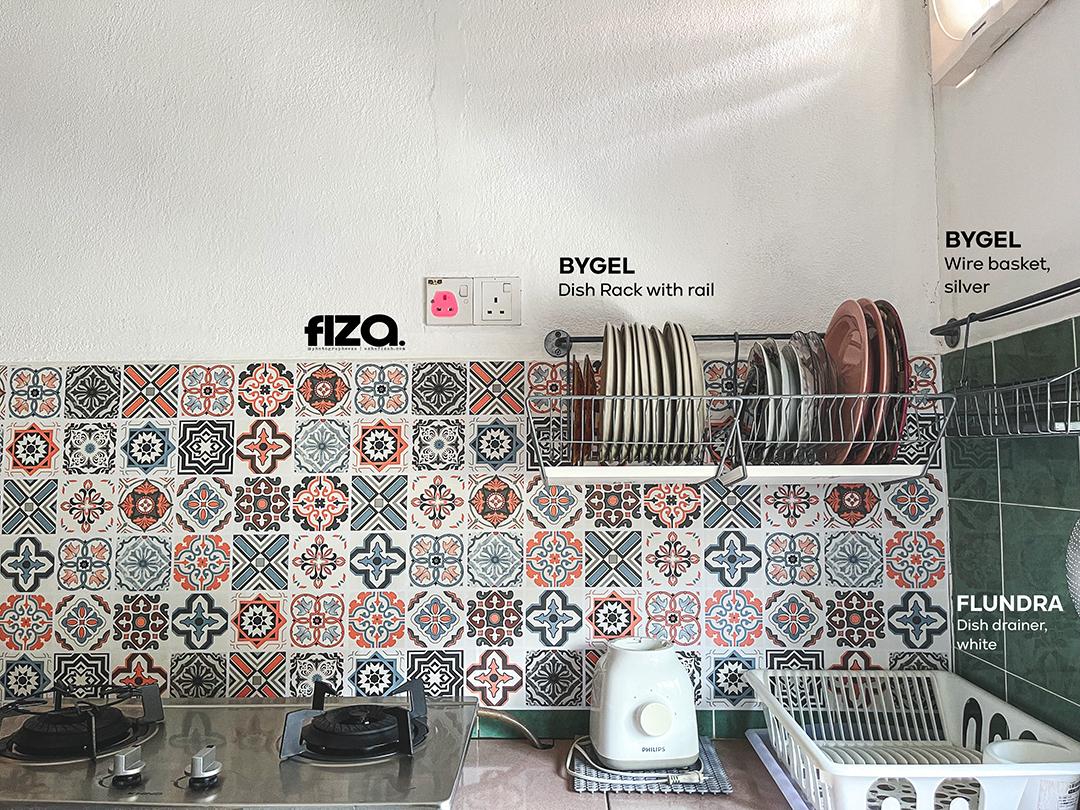 Moroccan Style Kitchen Wallpaper