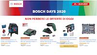 Logo Bosch Days Amazon: risparmia su attrezzi per giardinaggio e fai da te! Solo per 2 giorni