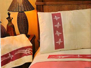 lenzuola minimal  per una camera moderna e raffinata
