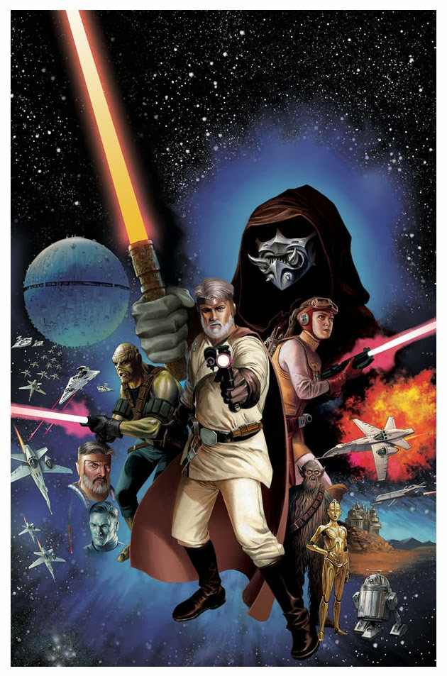 Cover for the first issue of the new ongoing Star Wars comic book series