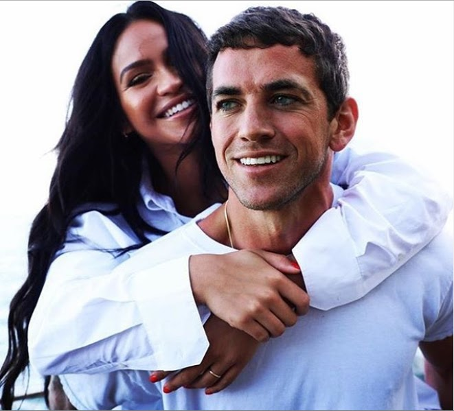 Diddy congratulates his ex-Cassie and her new boyfriend Alex Fine after their pregnancy annoucement.