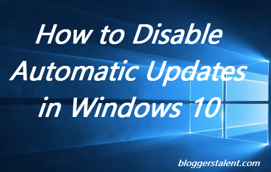 How to disable automatic updates in windows 8 - YouTube