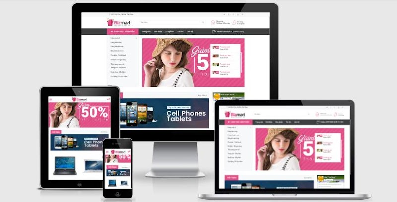 Bizmart eCommerce Blogger Template