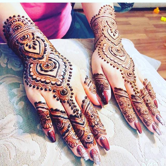 arabic mehndi designs simple photo