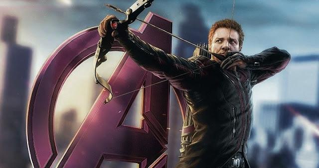 Jeremy Renner es Hawkeye en Los Vengadores