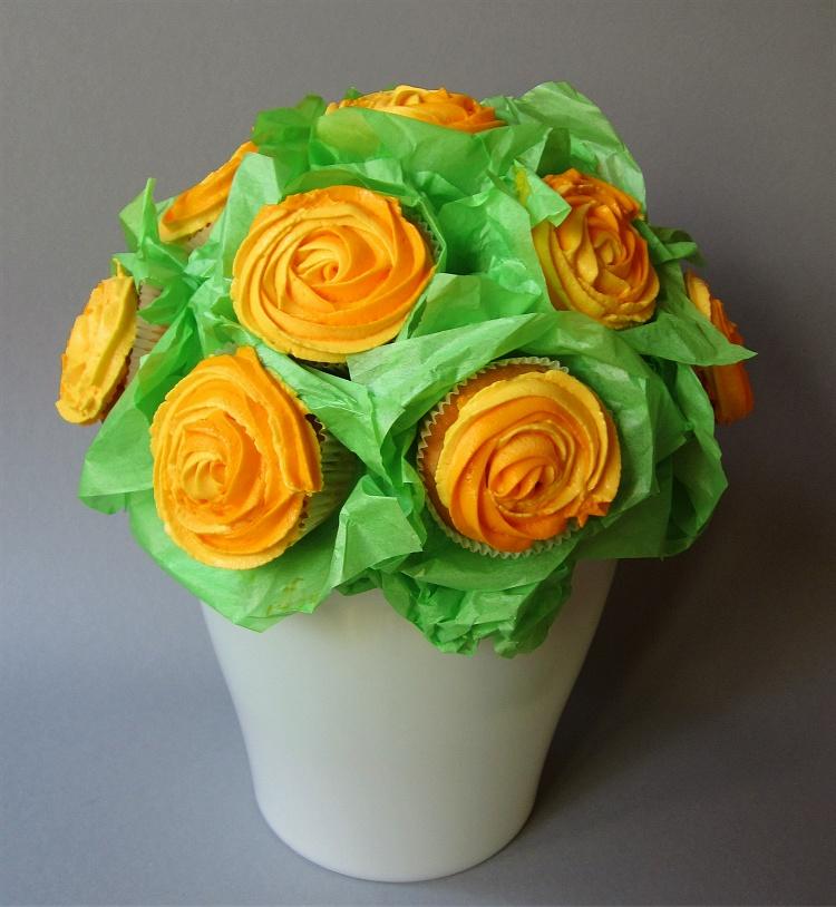 Cupcake-Blumenstrauß