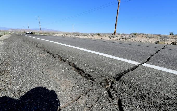 Maior tremor em 20 anos causa danos e assusta a Califórnia