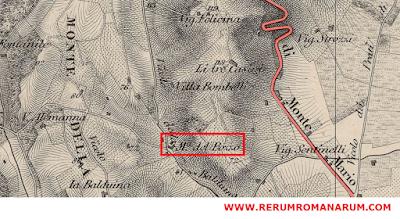 Mappa Madonna del Pozzo Balduina