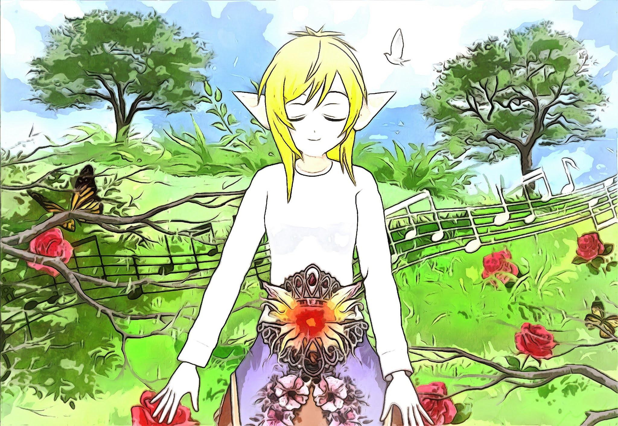 Peaceful Elf