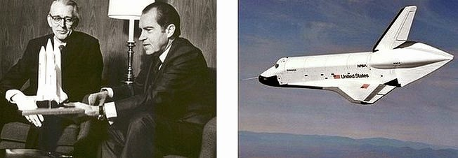 Pesident Nixon and the Space Shuttle
