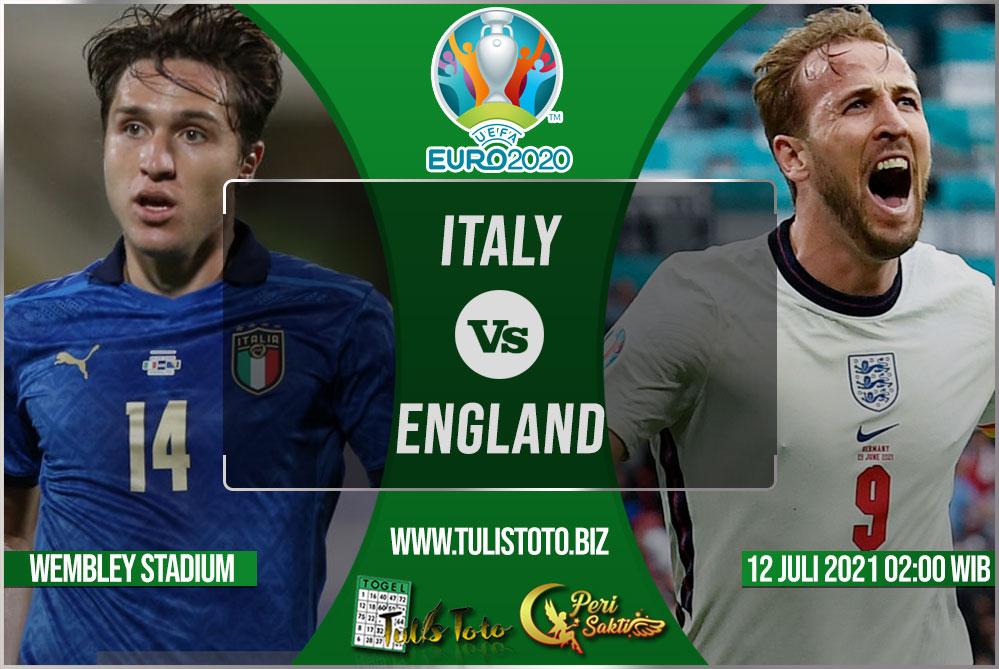 Prediksi Italy vs England 12 Juli 2021