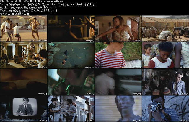 Ciudad de Dios DVDRip Descargar Español Latino 1 Link