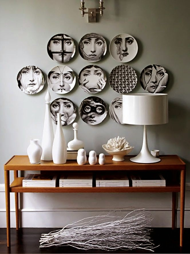 Decorar con platos