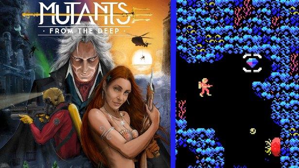 Mutants from the Deep - Το νέο pixel art retro παιχνίδι που θα σας ταξιδέψει στα βάθη του ωκεανού