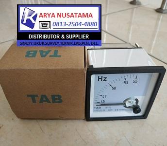 Jual Frequency HZ Meter TAB Class 1.5 72x72 di Batam