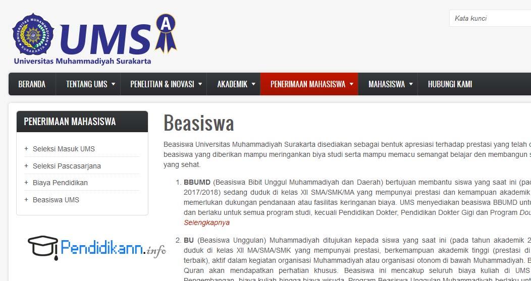 Beasiswa Hafidz Al-Qur'an UMS Universitas Muhammadiyah Semarang