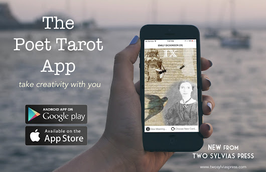 The Poet Tarot?--There's An App For That! @TwoSylviasPress #poetry #inspiration