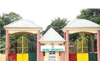 obong university courses