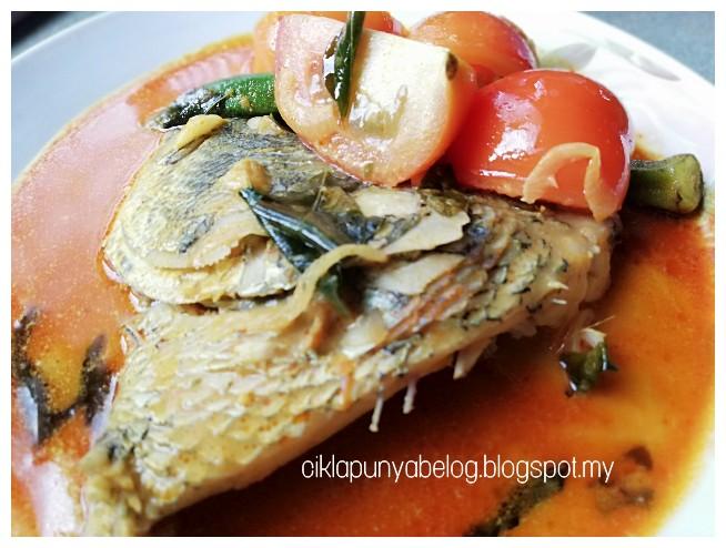 Kari kepala ikan gerut-gerut.