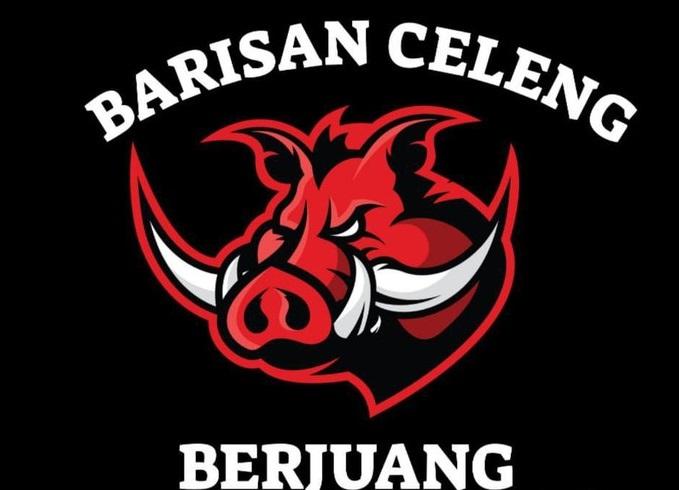 Bikin Panas Kubu Banteng, Kader PDIP Pendukung Ganjar Bikin Logo Barisan Celeng Berjuang!