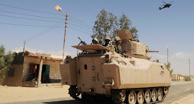 الجيش المصــرى فى سيناء