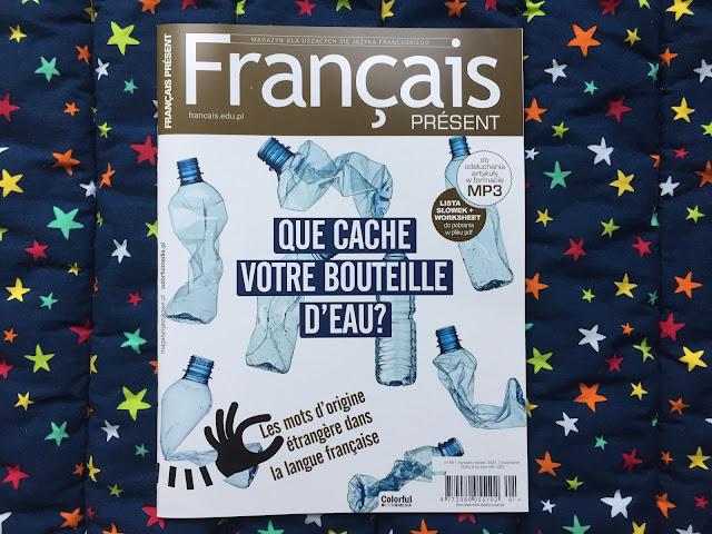 """Français Présent 55/2021"" - okładka czasopisma - Francuski przy kawie"