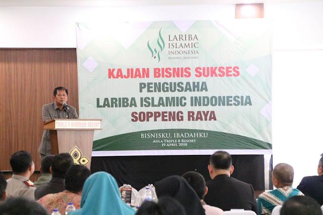 Bupati Soppeng : Lariba Islamic Indonesia Hadir Mengatisipasi Riba