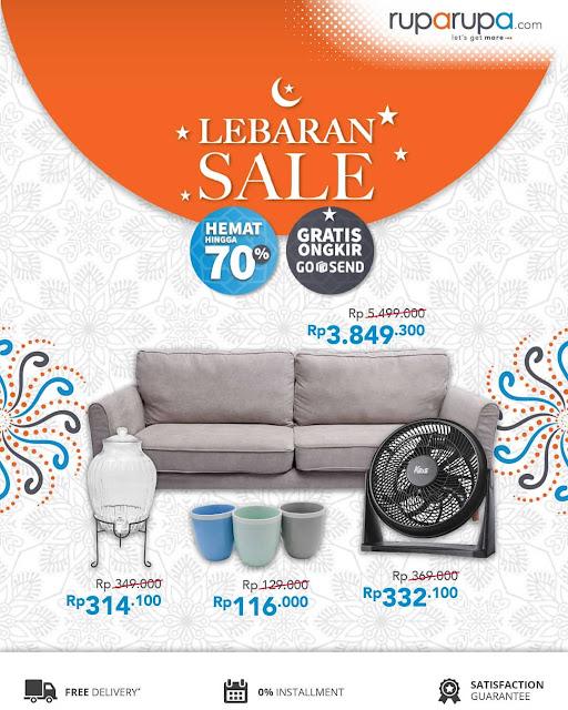 #RupaRupa - #Promo Lebaran Sale Hemat Hingga 70% & Gratis Ongkir GOSEND