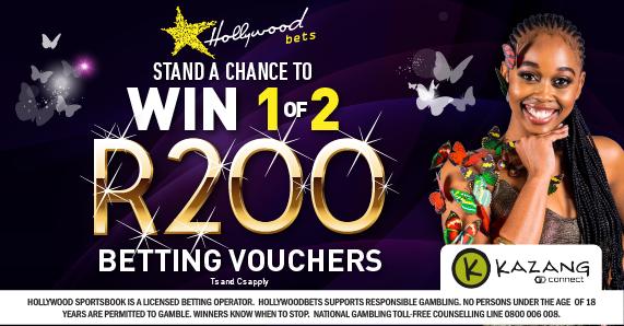 Win 1 of 2 R200 Betting Vouchers