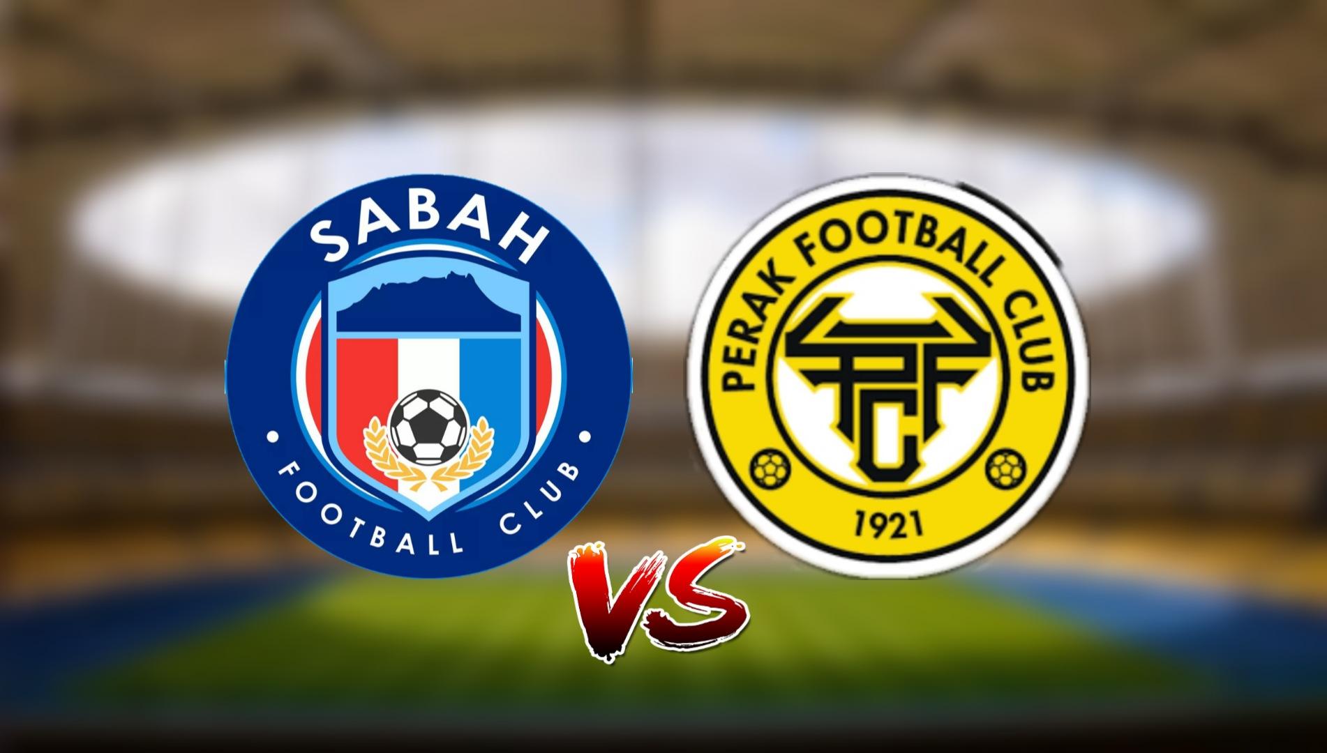 Live Streaming Sabah FC vs Perak FC Liga Super 2.5.2021