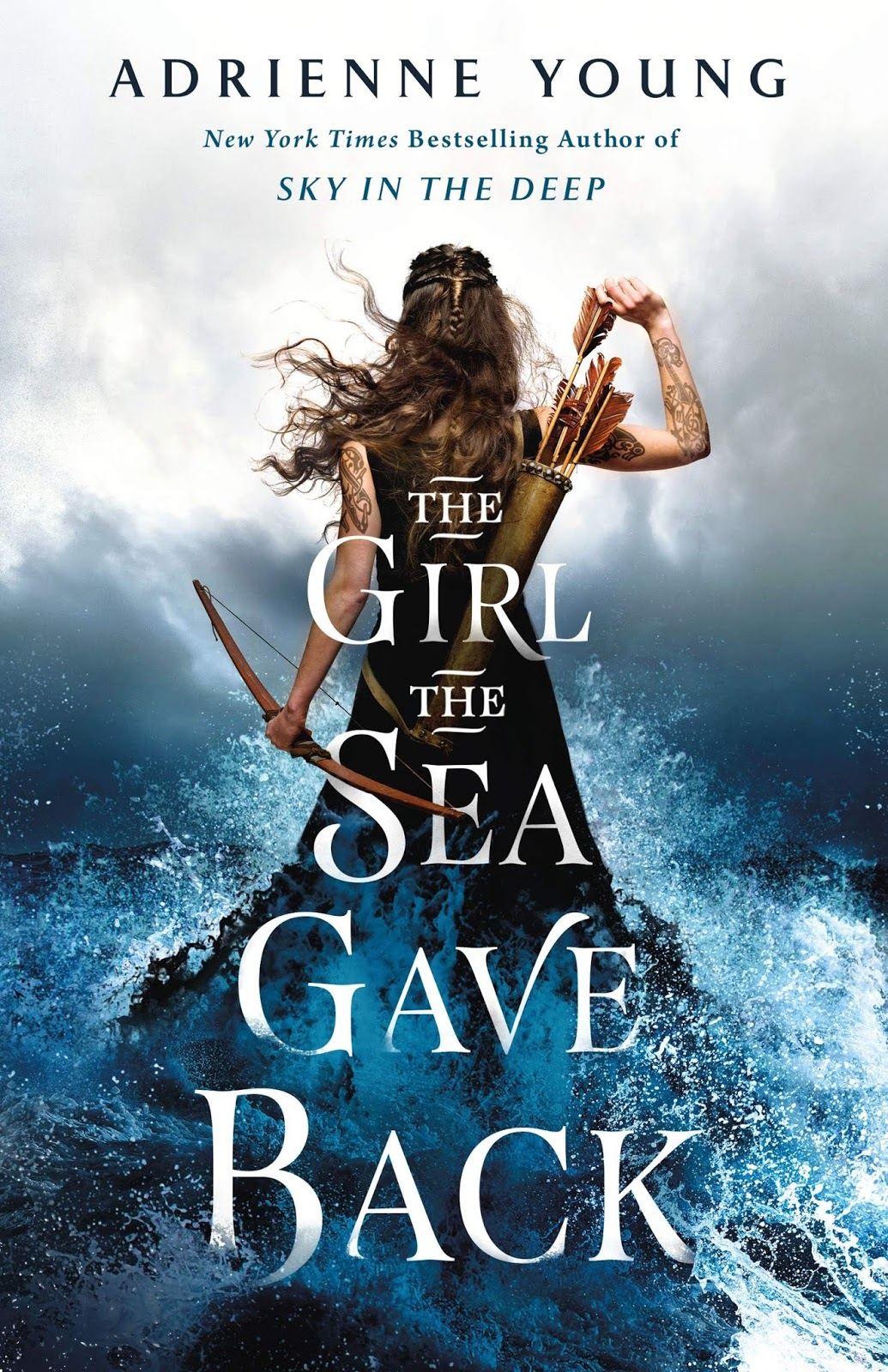 the girl the sea gave back adrienne young